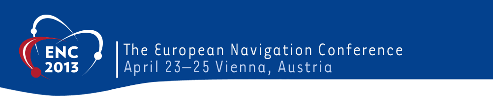 Logo and Title: The European Navigation Conference 2013